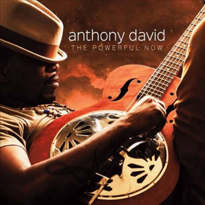 "音楽レビュー Anthony David ""The Powerful Now"""