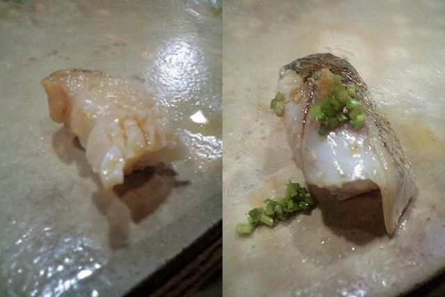 板前さん曰く「下手な鮑を食べるならこれを食べた方がいい」という真つぶは、得も言われぬ滋味を持った海の恵み。