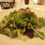 グリーンサラダ。とても新鮮。