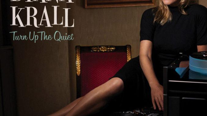 """音楽レビュー Diana Krall """"Turn Up The Quiet""""(★★★☆☆ 星3つ)"""