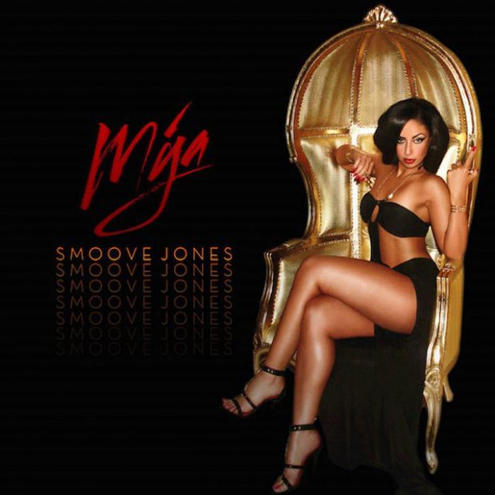 """音楽レビュー Mýa """"Smoove Jones""""(★★★★☆ 星4つ)"""