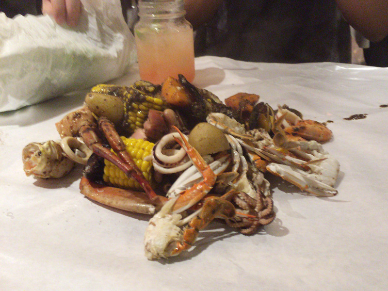 飲食店レビュー Dancing Crab(シーフード料理 新宿区新宿)