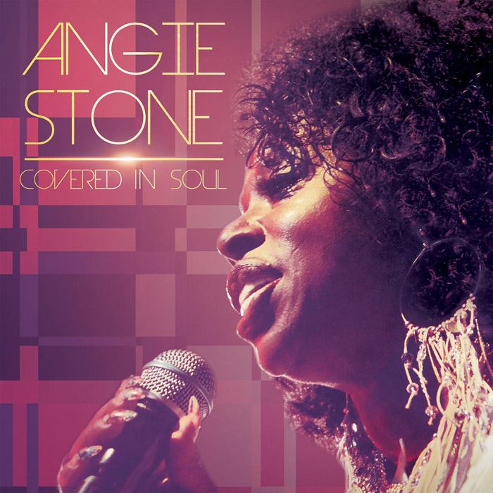 "音楽レビュー Angie Stone ""Covered In Soul""(★★★★★ 星5つ)"