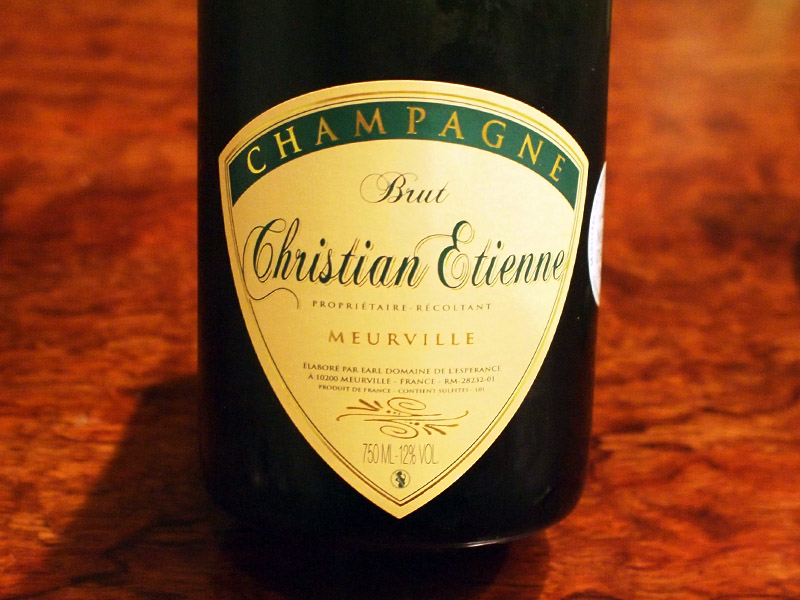 Christian Etienne Cuvée Prestige Brut シャンパンレビュー