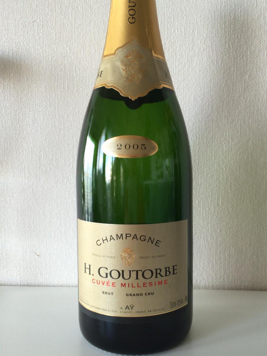 シャンパーニュレビュー Henri Goutorbe 2005 Cuvée Millésimé Brut
