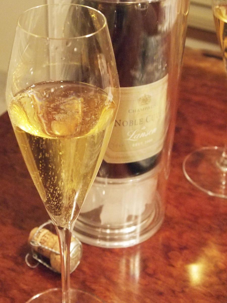 シャンパーニュレビュー Lanson Noble Cuvée Brut Vintage 2000