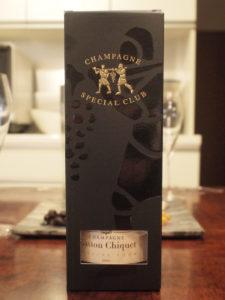 Gaston Chiquet Special Club 2009 Brut。お馴染みのSpecial Club共通の箱入り。
