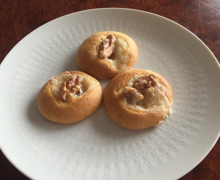 ココナツとくるみの簡単ソフトクッキー