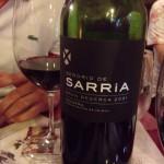今回ワインはグランレゼルバをセレクト。樽香が心地良く、しっかりしたワインだが、流行りのただ濃いだけのワインではなく、上質。