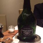 コースを通じてのシャンパンはLaurent-Perrier Grand Siècleを。