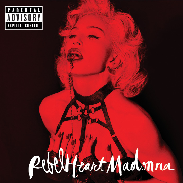 "音楽レビュー Madonna ""Rebel Heart"""
