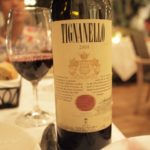 Tignanello Antinori 2008。フルボディーで味わい深いタイプ。