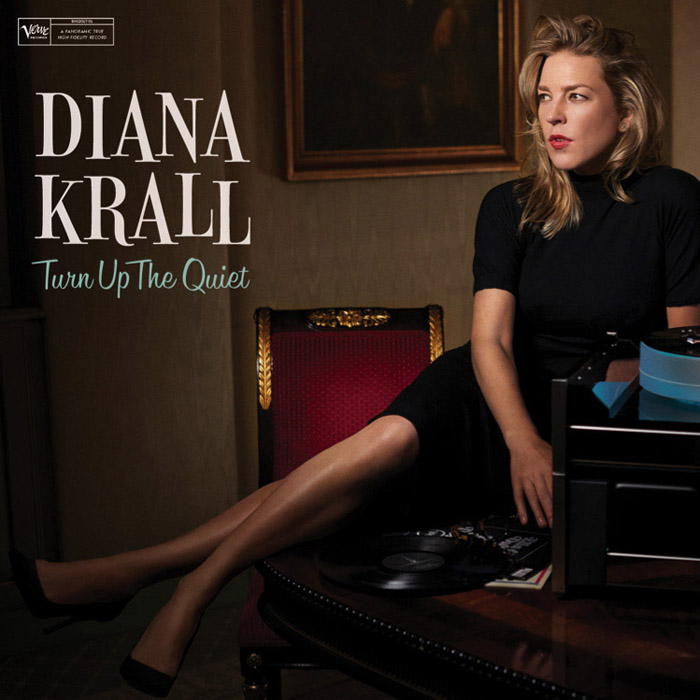 "音楽レビュー Diana Krall ""Turn Up The Quiet""(★★★☆☆ 星3つ)"
