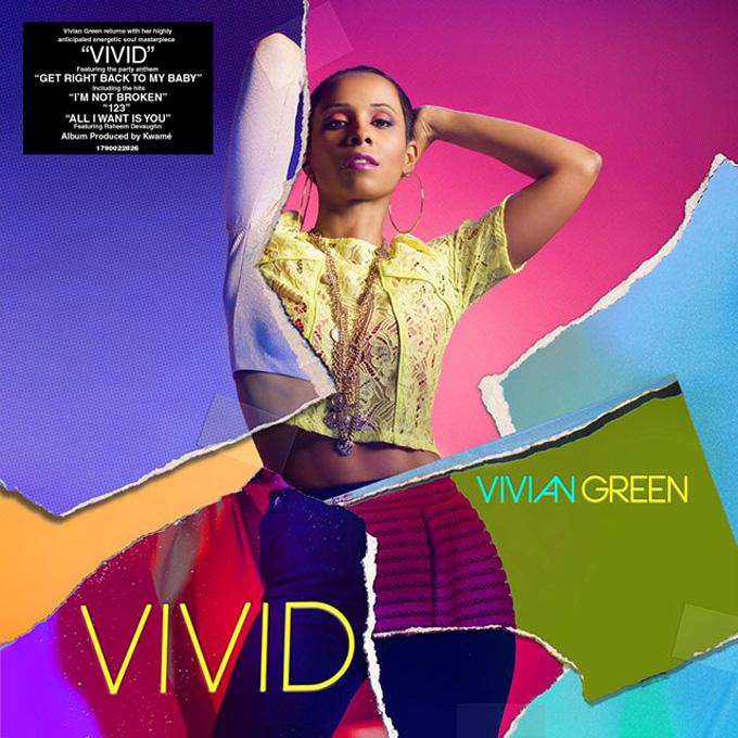 """音楽レビュー Vivian Green """"Vivid"""""""