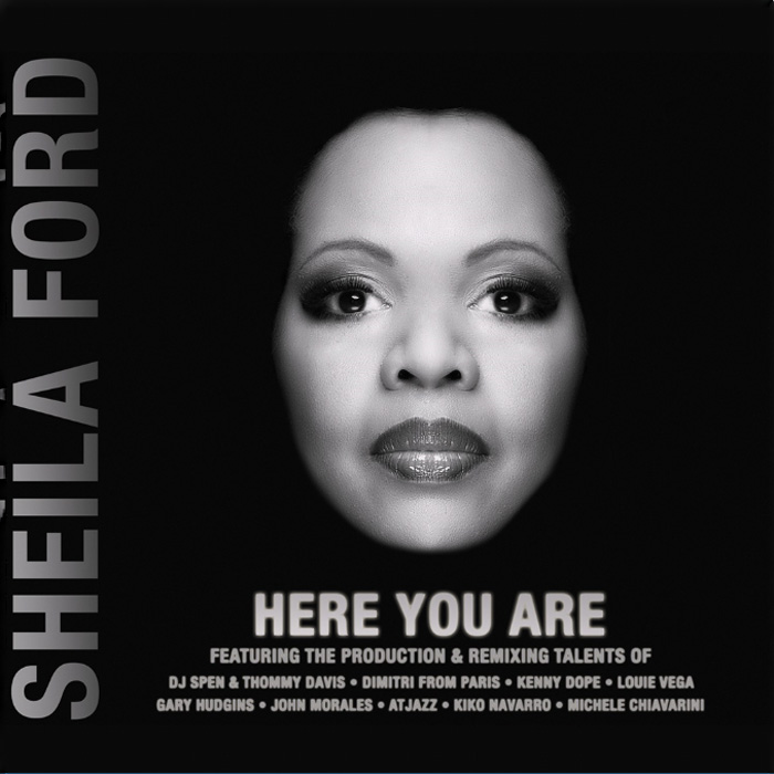 "音楽レビュー Sheila Ford ""Here You Are"""