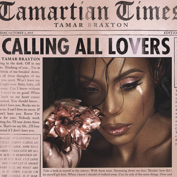 "音楽レビュー Tamar Braxton ""Calling All Lovers"""
