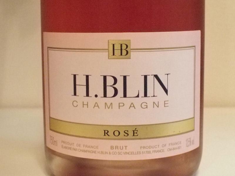 H. Blin Rosé シャンパーニュレビュー