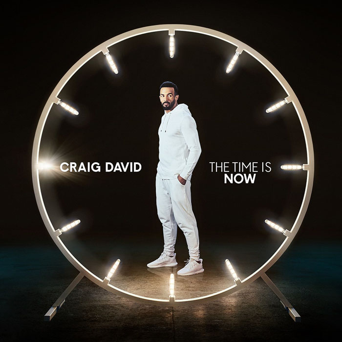 "音楽レビュー Craig David ""The TIme Is Now"""