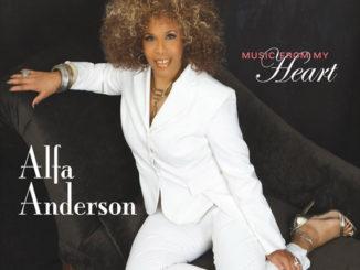 """音楽レビュー Alfa Anderson """"Music From My Heart""""(★★★☆☆ 星3つ)"""