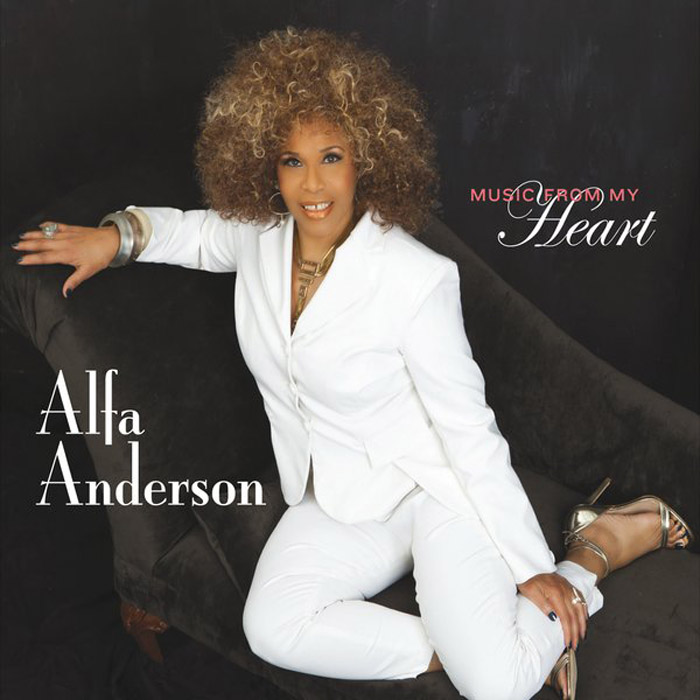 "音楽レビュー Alfa Anderson ""Music From My Heart""(★★★☆☆ 星3つ)"