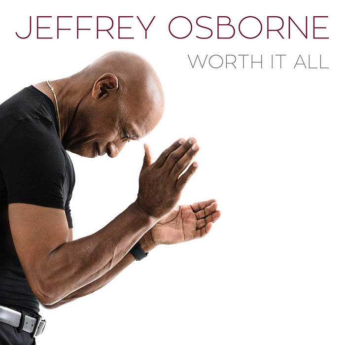 "音楽レビュー Jeffrey Osborne ""Worth It All""(★★★★☆ 星4つ)"