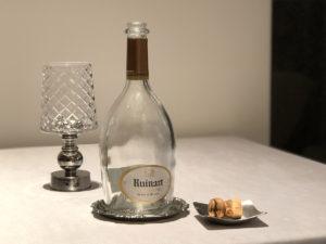 Ruinart Blanc de Blancs(既にボトルが空…)