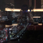 XVINからの夜景。これが売りの一つだろう。