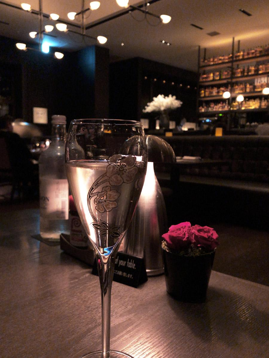 Perrier-Jouët Belle Epoque 2012で乾杯。
