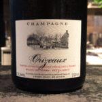シャンパーニュはChartogne-Taillet Cuvée Les Orizeaux Extra Brut(シャルトーニュ・タイエ キュヴェ・レ・ゾリゾー エクストラ・ブリュット)